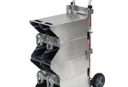 NEW SafeTSystem Folding Hand Cart for SCBA Bottles