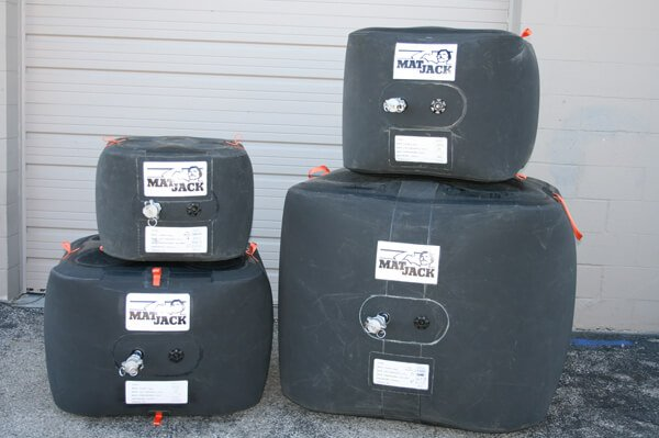 MatJack Medium Pressure Lifting Cushions