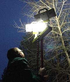 Lentry® Light System – Telescoping Lights