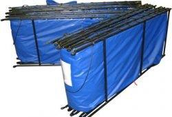 Double Folding Frame Water Tanks