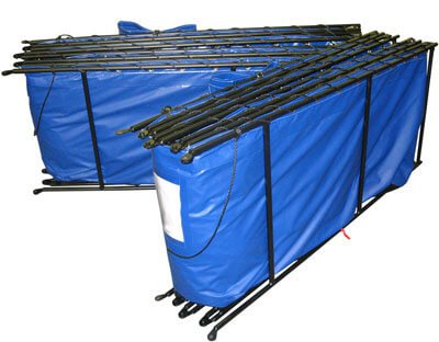 Double Folding Frame Water Tanks
