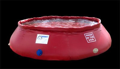 Self Supporting Frameless Portable Water Tanks