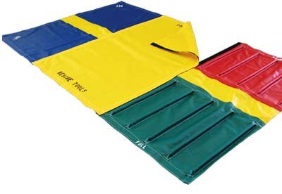 Emergency Equipment Staging Mats
