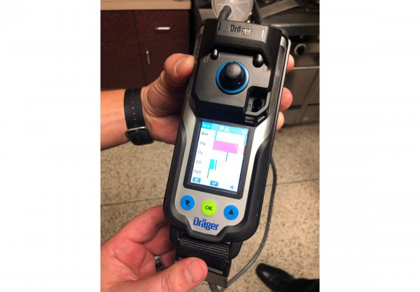 Dräger X-am® 8000 Multi-Gas Detector | Clarion|UX Fire & Rescue