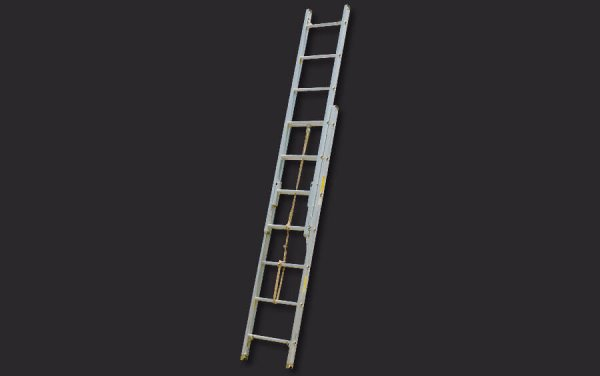 Aluminum Pumper Type Roof Ladder