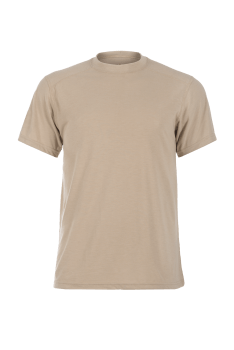 Pro Dry Short Sleeve Tan_Front