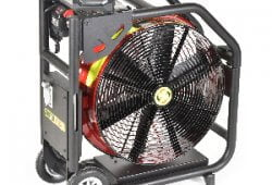 Super Vac NEW Battery Fan with Milwaukee Batteries