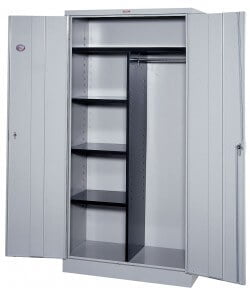 double-wardrobe-with-shelves-metal