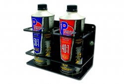 Double Premix/Bar Container Holders – Black